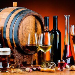 Enología: vinos, aguardientes y licores